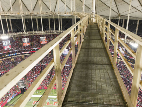 That Time On the Georgia Dome Catwalk