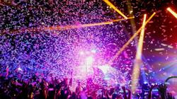 Concert Pink Confetti