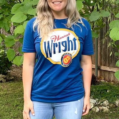 "Hannah Wright ""American Made"" t-shirt"