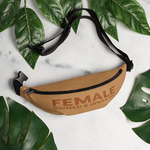 Female Owned and Operated Fanny Pack