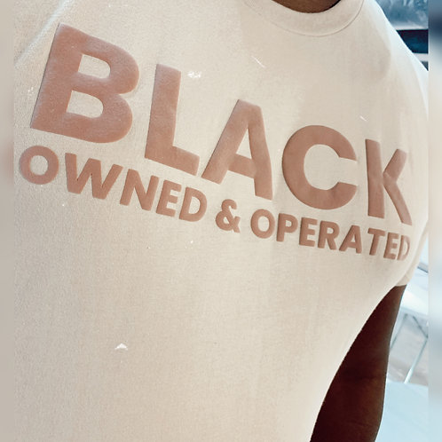Black Owned & Operated Tee