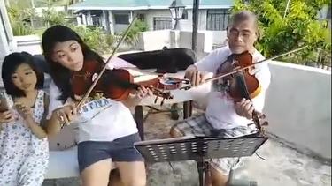 Panginoon Maawa Ka violin performance