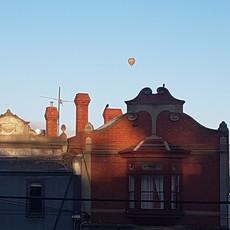 vista do primeiro quarto em Melbourne, Fitzroy