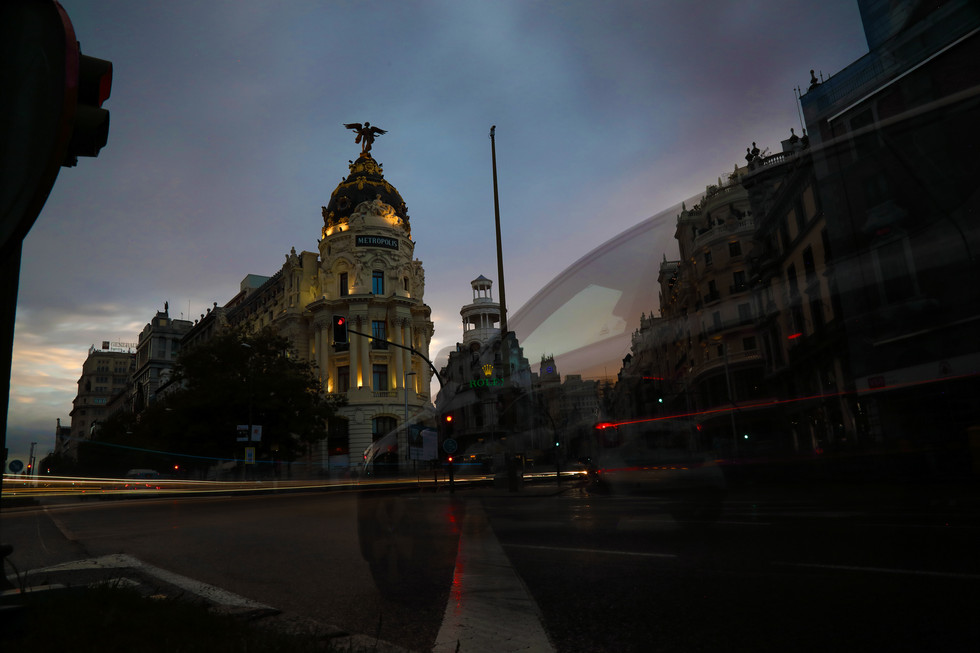 Calle Alcala, Madrid
