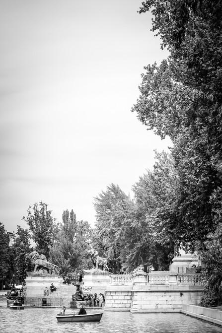 Estanque Grande del Retiro, Madrid