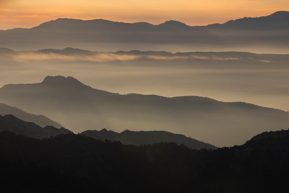 Horizonte en Sierra Nevada
