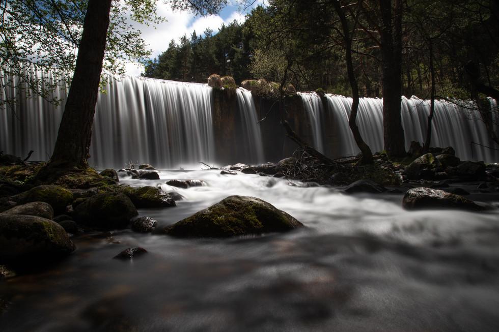 Cascada en Rascafria