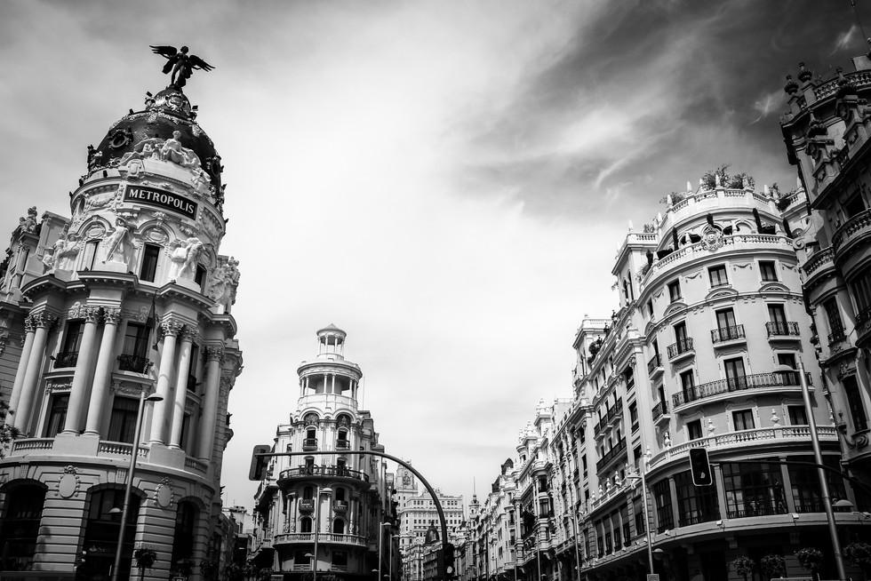 Los edificios, Madrid