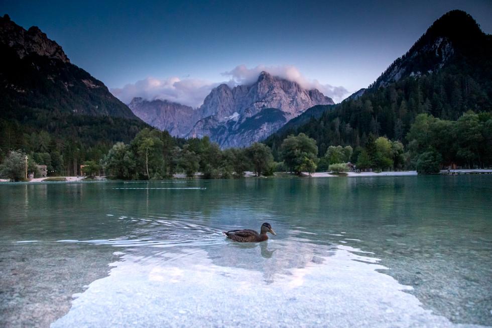 Jasna Lake, Eslovenia