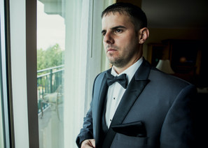 Groom awaiting for the ceremony