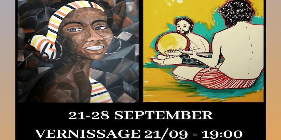 Romain Chauvet & Afanwi Neba Art Exhibition