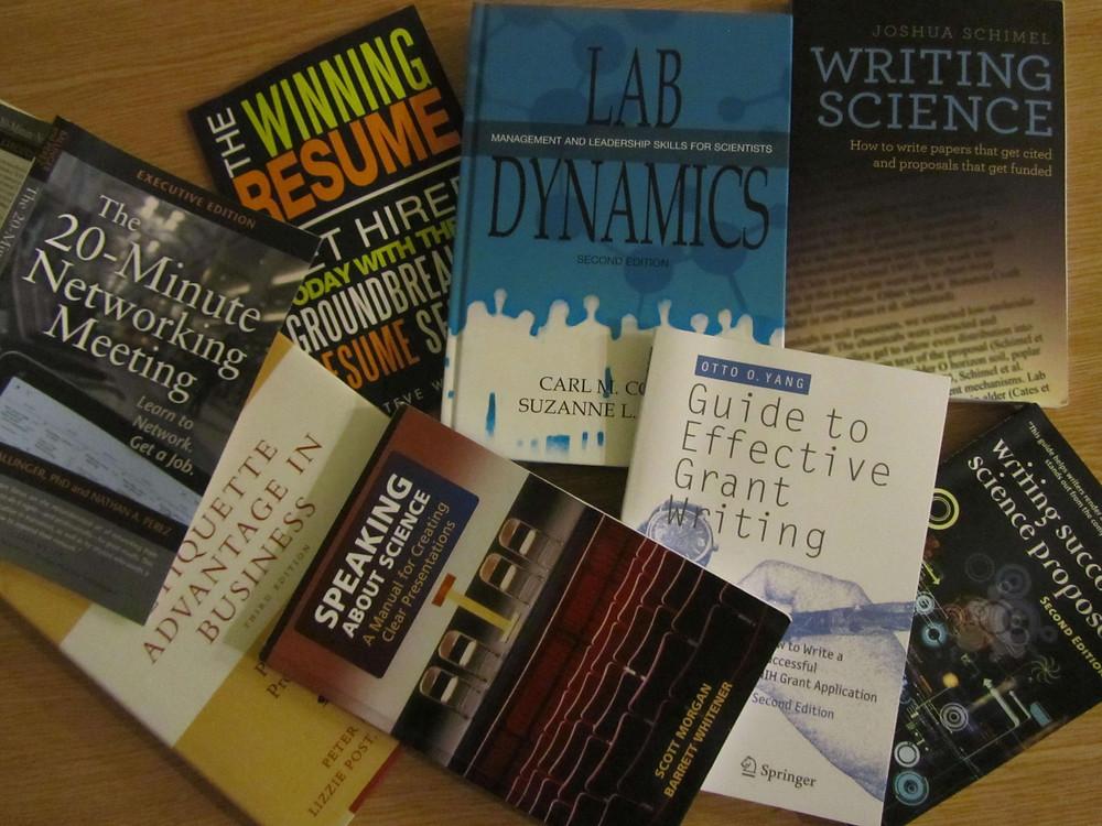 """Книги, рекомендованные на онлайн-семинаре """"На пути к успеху в науке"""""""