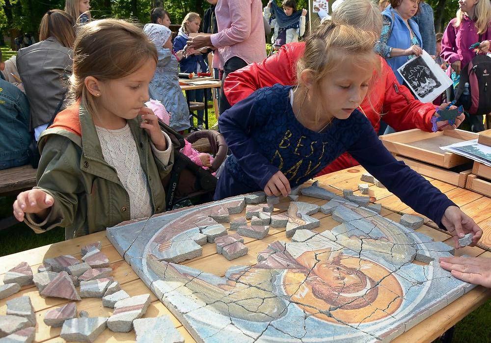 Фестиваль детских музейных программ «Онфим собирает друзей». Великий Новгород. 2017