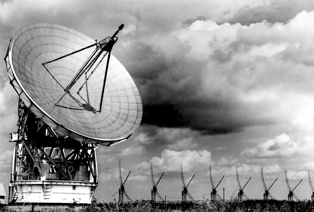Радиотелескоп РТ-22. Сайт Пущинской радиоастрономической обсерватории