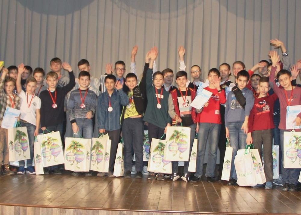 Награждение победителей и призеров турнира Kazan Math Open. 2017