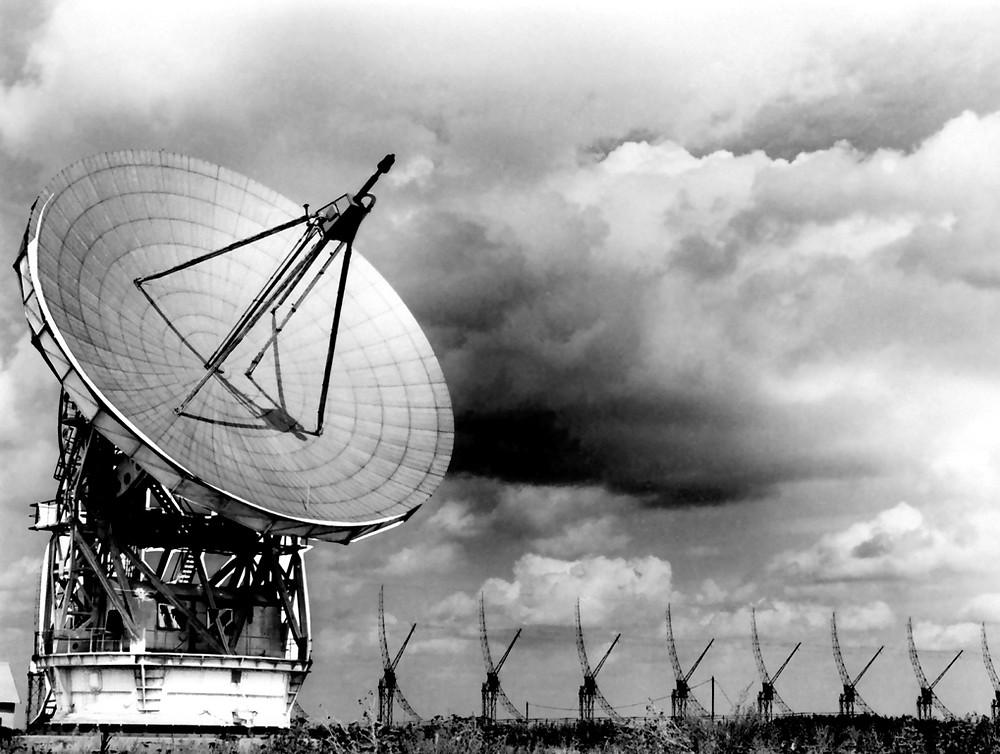 Радиотелескоп РТ-22, с сайта Пущинской радиоастрономической обсерватории