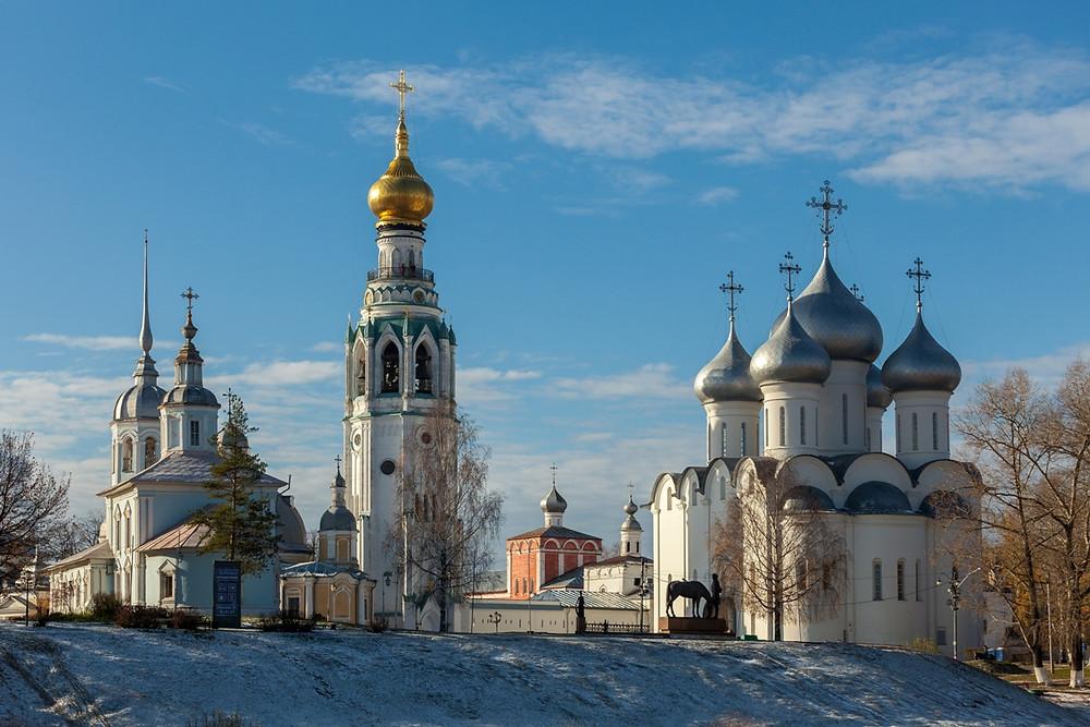 Ансамбль Вологодского кремля. Фото: Vitaly Alyabyev/ Wikimedia Commons
