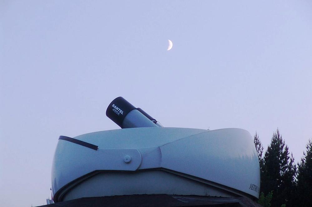 Робот-телескоп «Мастер-II-Урал».  Фото с сайта Коуровской астрономической обсерватории