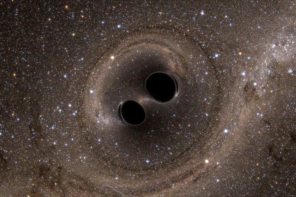 Черные дыры. Слияние. Моделирование