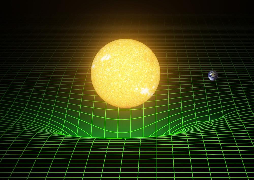 Массивные тела. Деформация пространства-времени. T. Pyle/Caltech/MIT/LIGO Lab