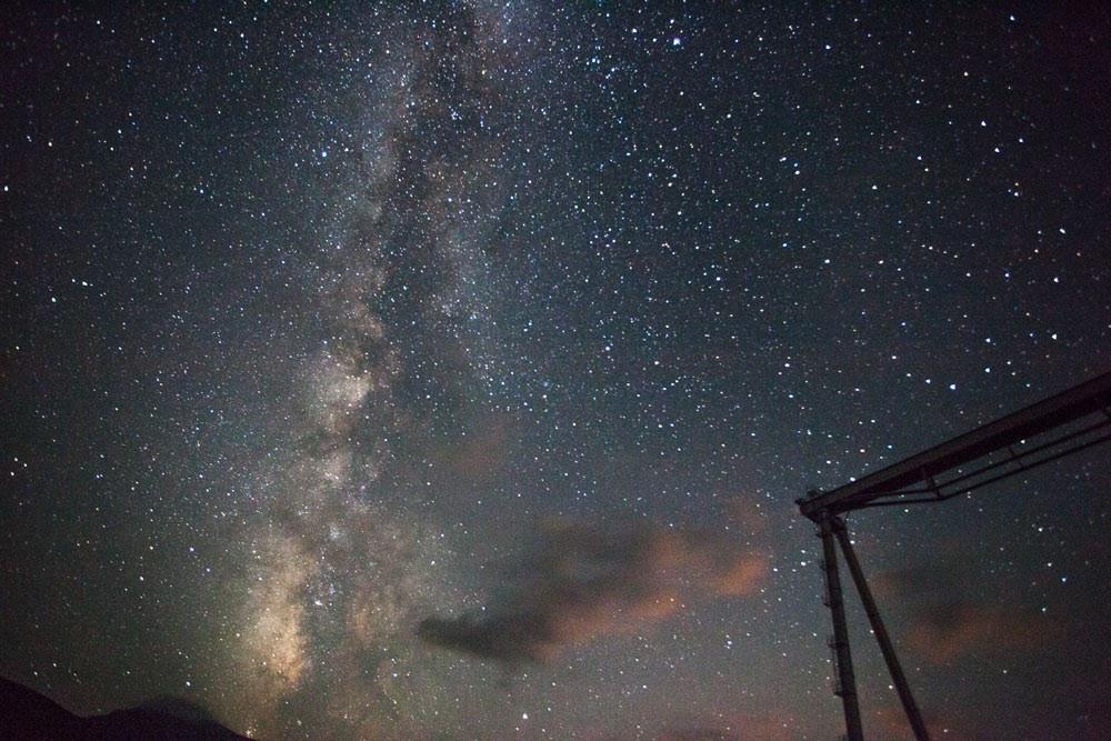 Специальная астрофизическая обсерватория РАН. Ночное небо