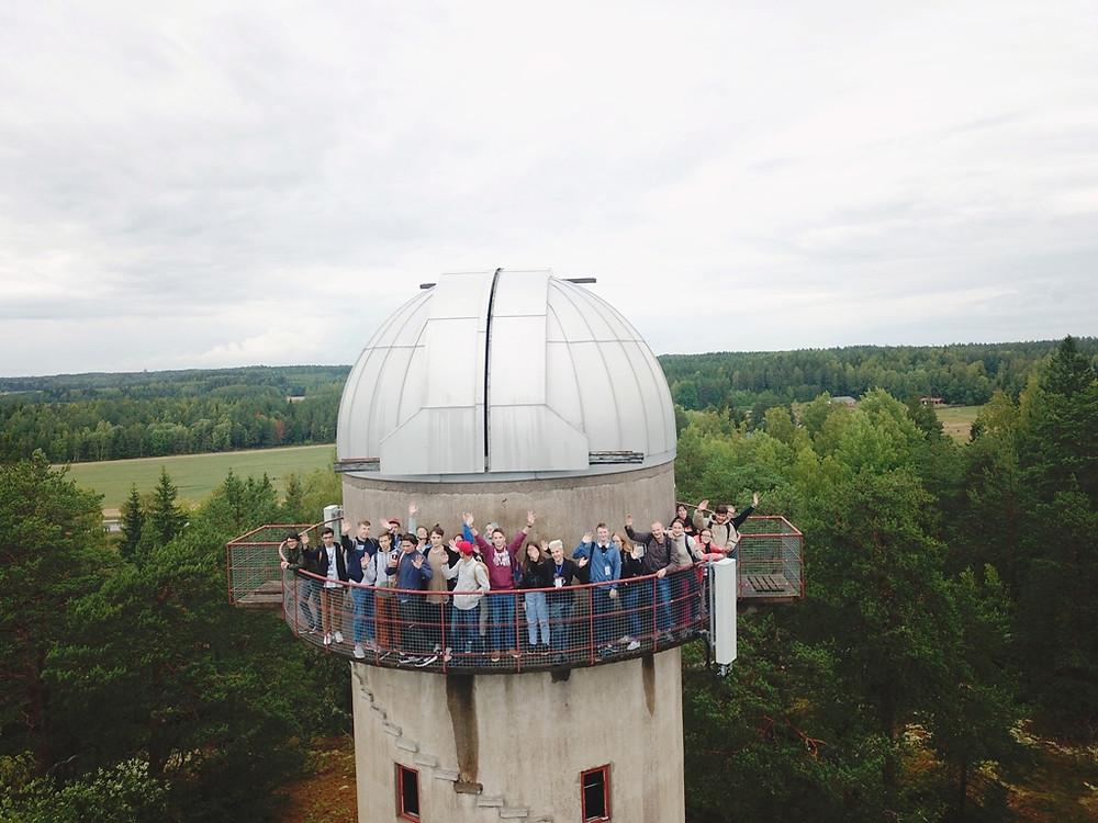 """Пятая Астрофизическая школа """"Траектория"""". Обсерватория Тоурла. Турку"""