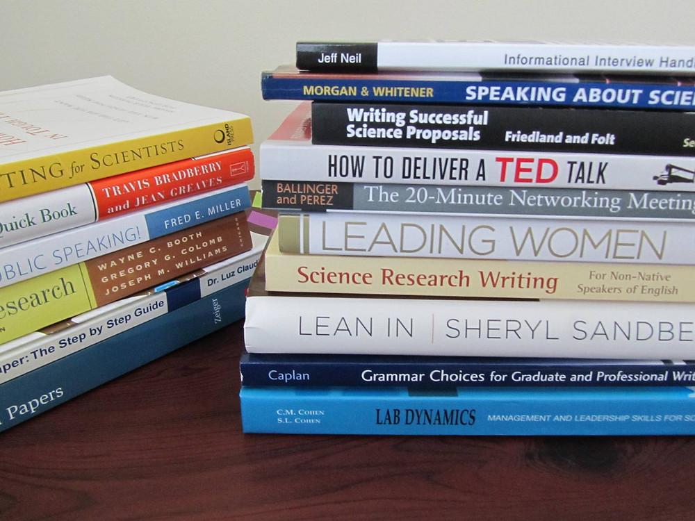 """Книги, рекомендованные на курсе """"На пути к успеху в науке"""""""