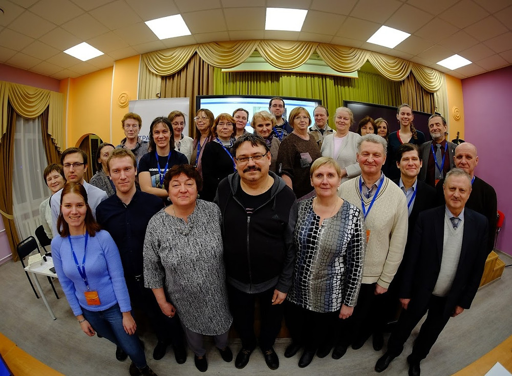 Участники II методического семинара по  вопросам преподавания астрономии. Январь 2019