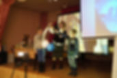 """Учитель физики Светлана Колякина на детском фестивале """"Магия науки и творчества"""""""