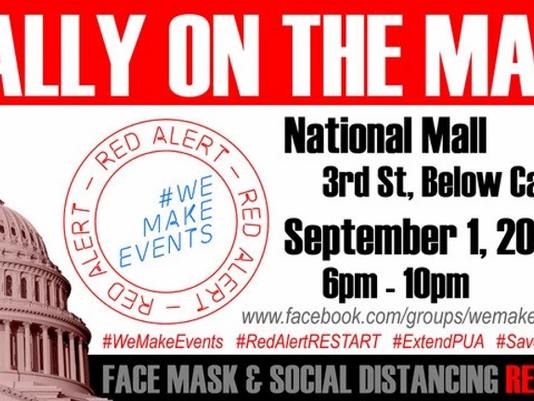 #WeMakeEvents #RedAlertRESTART