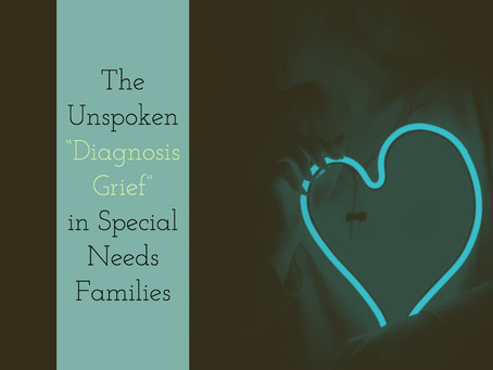 Monday Mourning: The Unspoken Grief of a Special Needs Diagnosis