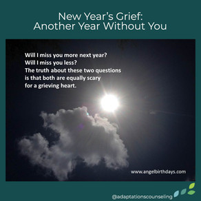 Monday Mourning: Another Year Without You