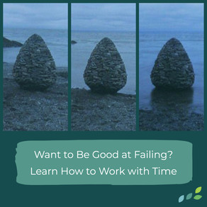 Thriveful Thursday: Want to be good at failing? Learn how to work with time.