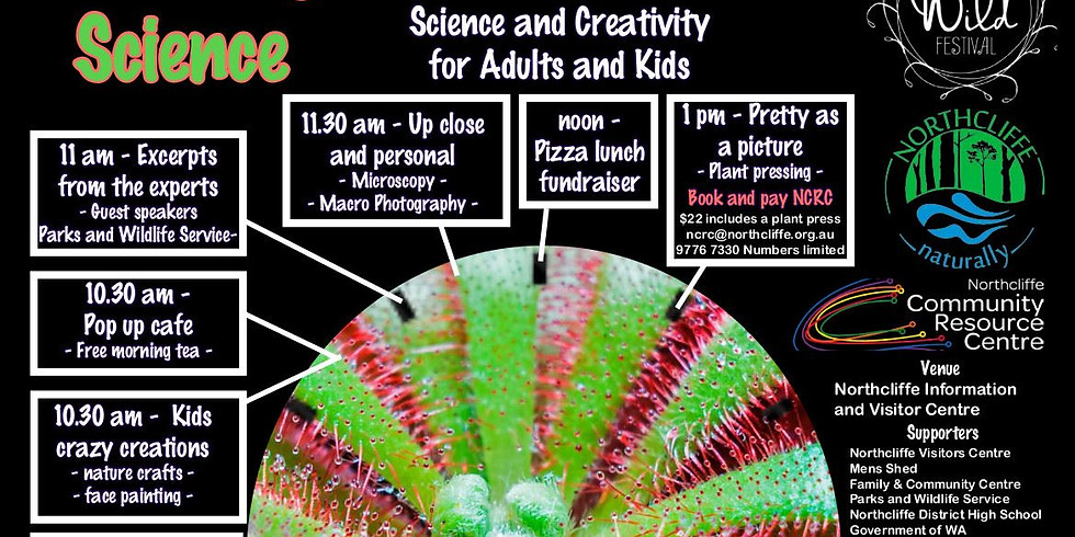 Blooming Science - Hands on Science & Creativity Day