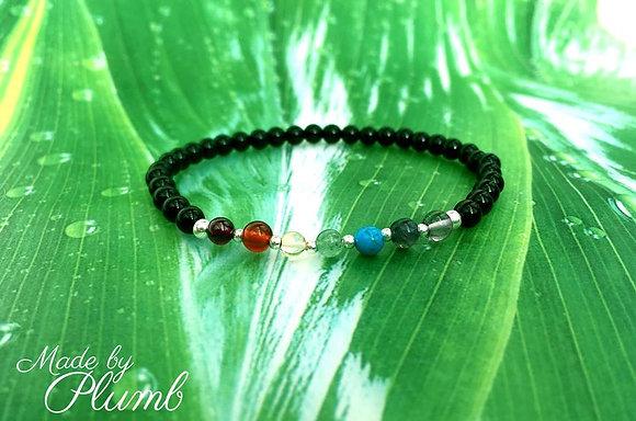 Chakra Inspired Bracelet - Black Onyx