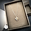 Thumbnail: 'Besties Forever' Sterling Love Heart Necklace