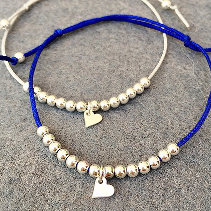 'Grateful Heart' NHS Charity Bracelet