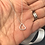 Thumbnail: Sterling Heart Drop Necklace