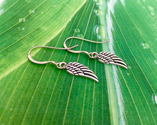 Sterling 'Angel Wing' Earrings