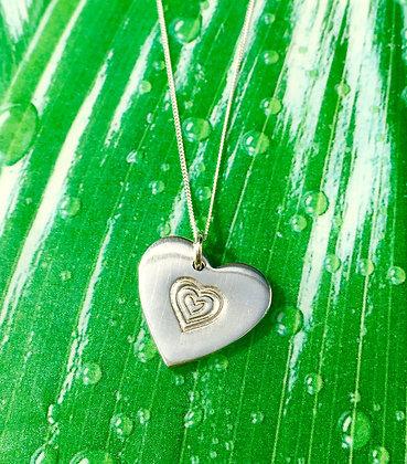 Pure & Simple Heart Pendant