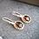 Thumbnail: Beautiful Genuine Garnet Drops
