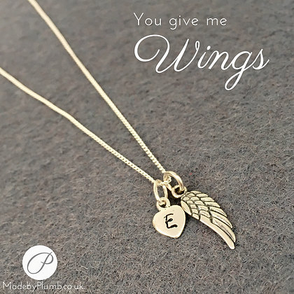 You give me Wings Necklace