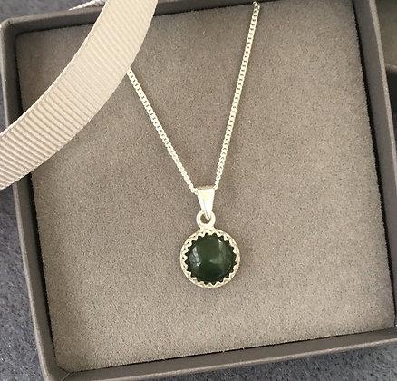 Genuine Nephrite Jade Pendant