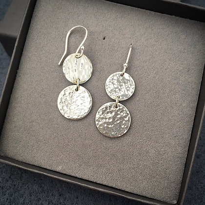 Handcrafted Sterling 'Shimmer & Shine' Drops