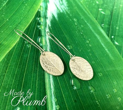 Pure Beauty - Leaf Earrings