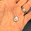 Thumbnail: Sterling Silver April Swarovski 'Diamond' Birthstone Pendant Necklace