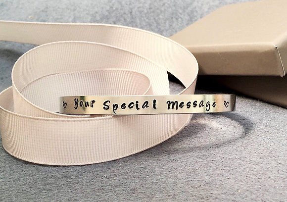 Personalise 'Your Special Message' Bangle