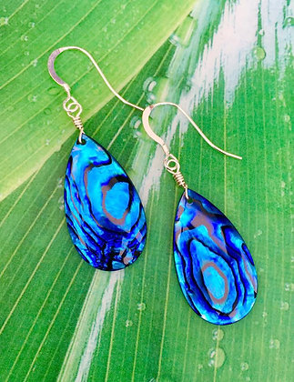 Beautiful Blue Paua Drops