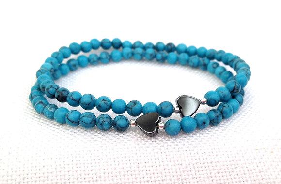 Tuquoise Howlite Bracelet