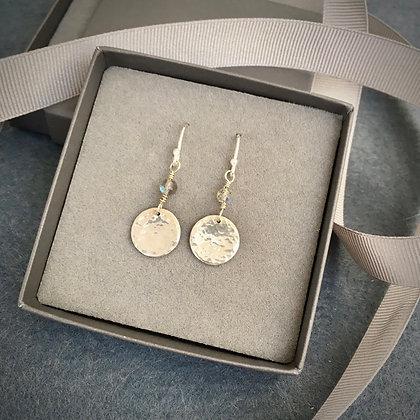 Handcrafted Sterling & Labradorite Drop Earrings